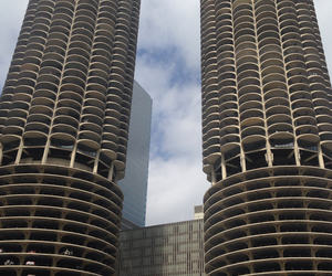 building, chicago, and world image