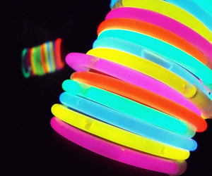 neon and bracelet image