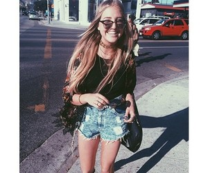 girl, style, and hippie image