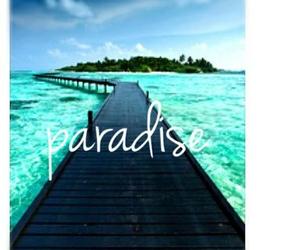 paradise and beautiful image