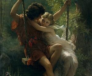 1873, couple, and springtime image