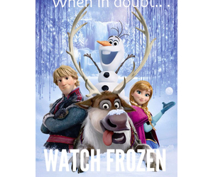 disney, frozen, and snowman image