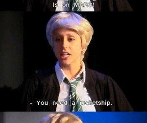 avpm, draco malfoy, and harry potter image
