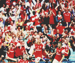 Arsenal, gibbs, and aaron ramsey image