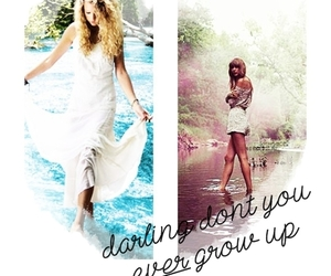 Taylor Swift and never grow up image