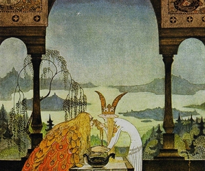 illustration, fairy tale, and kay nielsen image