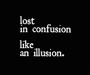 bw, confusion, and illusion image