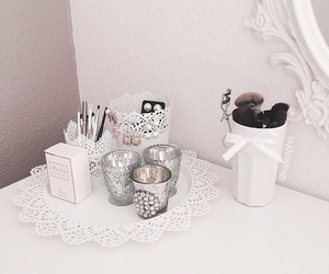 decoration, interior, and white image