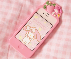 pink, iphone, and cute image