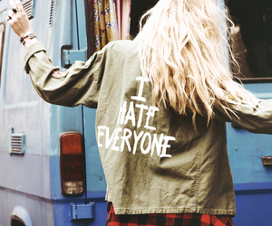 grunge, hipster, and blonde image