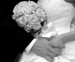 hands, wedding, and cute image