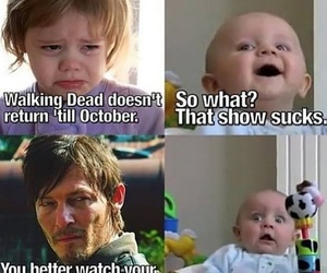 funny and the walking dead image