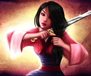 fanart and mulan image