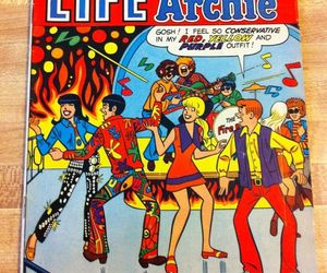 1960s, Archie, and comic books image