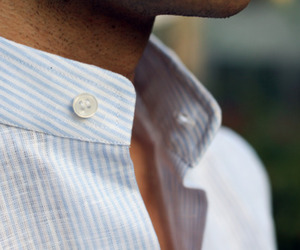 button, collar, and man image