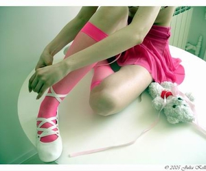2005, pink, and stockings image