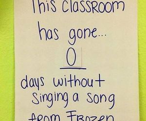 frozen and song image