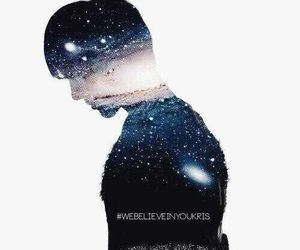 exo, galaxy, and kris image