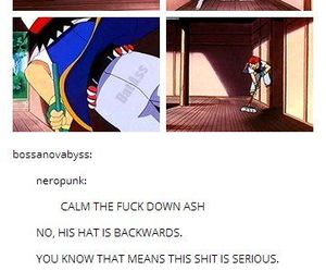 ash and funny image
