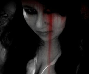 black & white, rambo13, and blood image