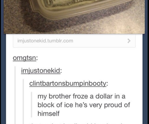 funny, cash, and cold image