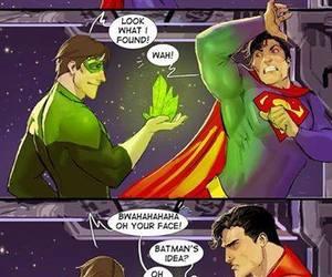 superman, batman, and green lantern image