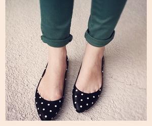 polka dots and fashion image