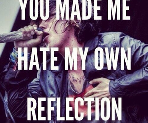 sleeping with sirens, Lyrics, and music image