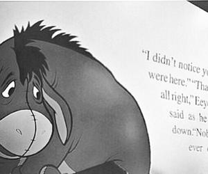 depression, sad, and donkey image