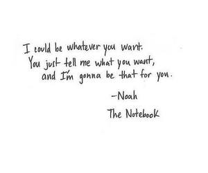 the notebook, love, and noah image