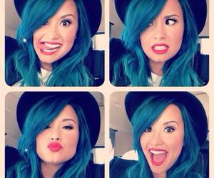 blue hair, idol♥, and perfect image