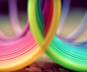 photography, rainbow, and vintage image