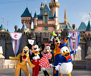 disneyland, disney, and mickey image
