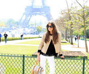 paris, fashion, and girl image