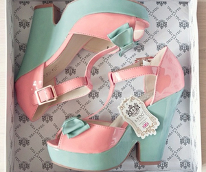 shoes, pink, and kawaii image