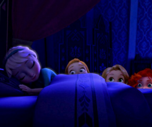 anna, tangled, and brave image