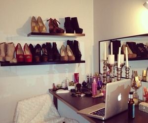shoes, room, and heels image