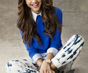 zendaya, zendaya coleman, and blue image