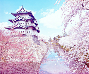 japan, tower, and pink image