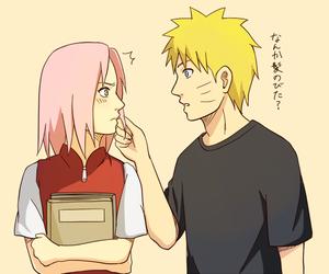 narusaku and sakura haruno image
