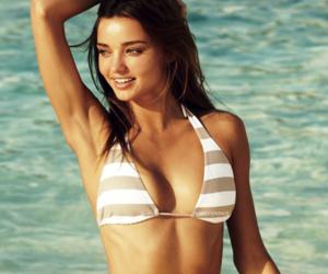 miranda kerr, Victoria's Secret, and beach image