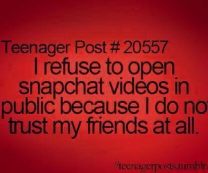 snapchat, friends, and teenager post image