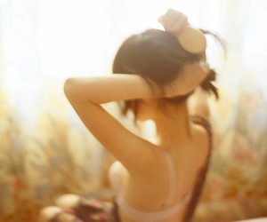 back, sunlight, and blur image