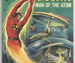 1960s, atomic, and comic books image