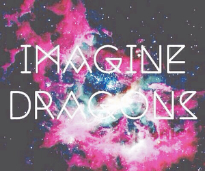 imagine dragons, galaxy, and dragons image