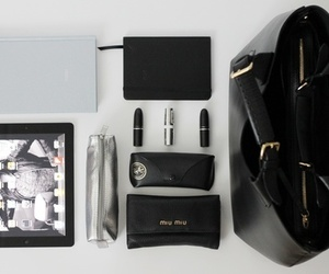 bag, ipad, and miu miu image