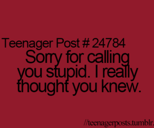 teenager post image
