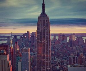 city, new york, and beautiful image