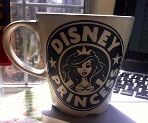 disney, princess, and mug image