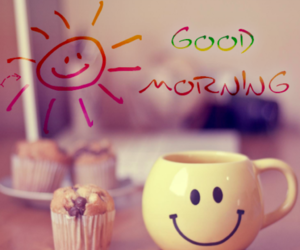 good morning, smile, and morning image